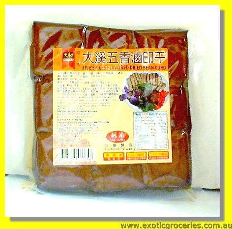 Five Spices Flavoured Dried Bean Curd
