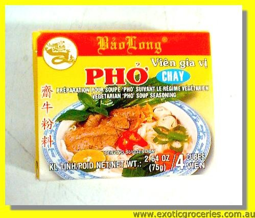 Vegetarian Pho Soup Seasoning 4cubes